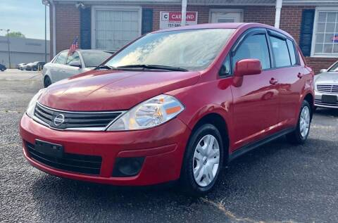 2012 Nissan Versa for sale at Carland Auto Sales INC. in Portsmouth VA