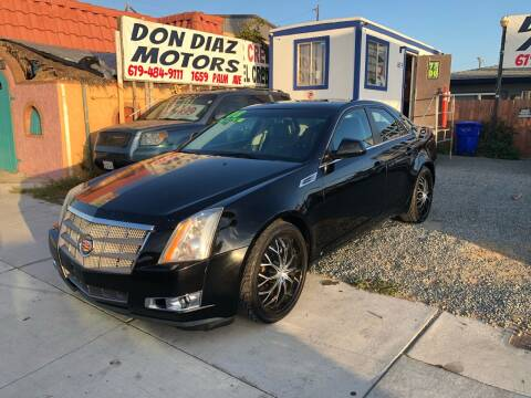 2008 Cadillac CTS for sale at DON DIAZ MOTORS in San Diego CA