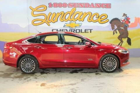 2018 Ford Fusion Energi for sale at Sundance Chevrolet in Grand Ledge MI