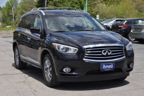 2014 Infiniti QX60 for sale at Amati Auto Group in Hooksett NH