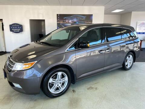 2011 Honda Odyssey for sale at Used Car Outlet in Bloomington IL