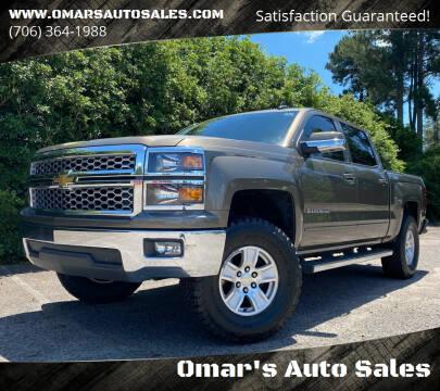 2015 Chevrolet Silverado 1500 for sale at Omar's Auto Sales in Martinez GA