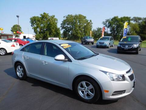 2012 Chevrolet Cruze for sale at North State Motors in Belvidere IL