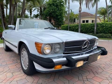 1987 Mercedes-Benz 560-Class for sale at HD CARS INC in Hollywood FL