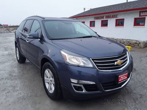 2013 Chevrolet Traverse for sale at Sarpy County Motors in Springfield NE