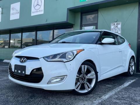 2016 Hyundai Veloster for sale at KARZILLA MOTORS in Oakland Park FL