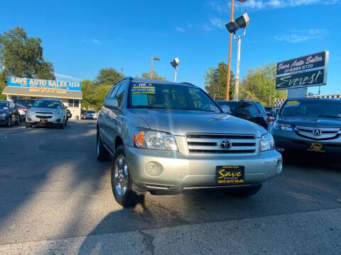 2006 Toyota Highlander for sale at Save Auto Sales in Sacramento CA