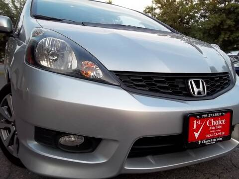 2012 Honda Fit for sale at 1st Choice Auto Sales in Fairfax VA