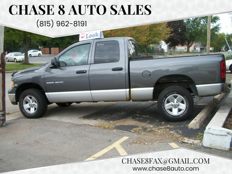 2003 Dodge Ram Pickup 1500 for sale at Chase 8 Auto Sales in Loves Park IL