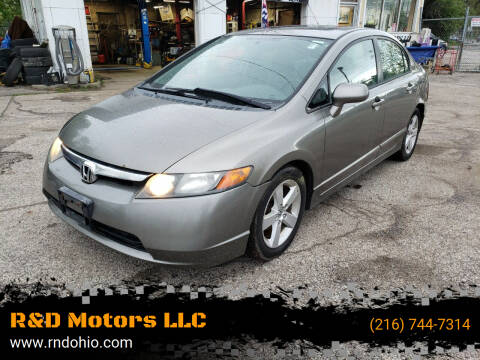 2006 Honda Civic for sale at R&D Motors LLC in Cleveland OH