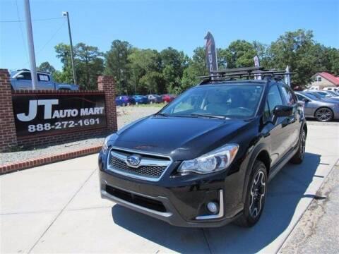 2016 Subaru Crosstrek for sale at J T Auto Group in Sanford NC