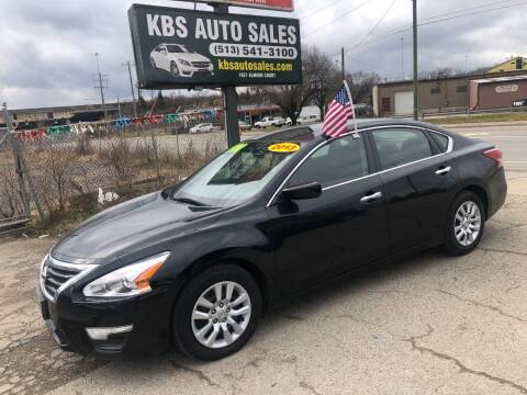 2013 Nissan Altima for sale at KBS Auto Sales in Cincinnati OH