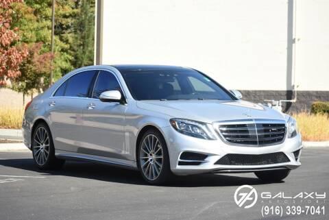 2014 Mercedes-Benz S-Class for sale at Galaxy Autosport in Sacramento CA