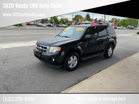 2011 Ford Escape for sale at 1020 Route 109 Auto Sales in Lindenhurst NY