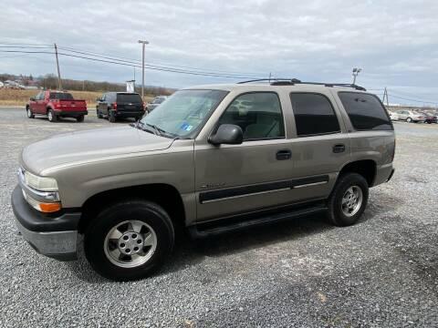 2001 Chevrolet Tahoe for sale at Tri-Star Motors Inc in Martinsburg WV