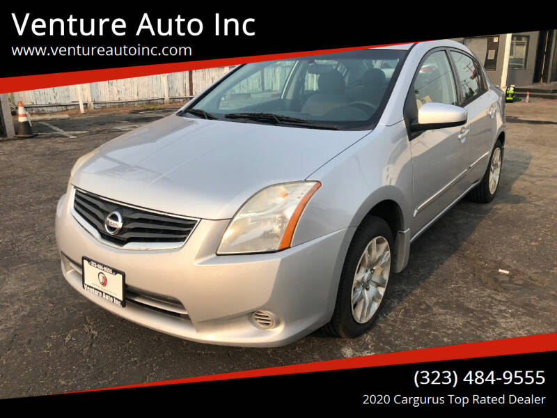 2010 Nissan Sentra for sale at Venture Auto Inc in South Gate CA