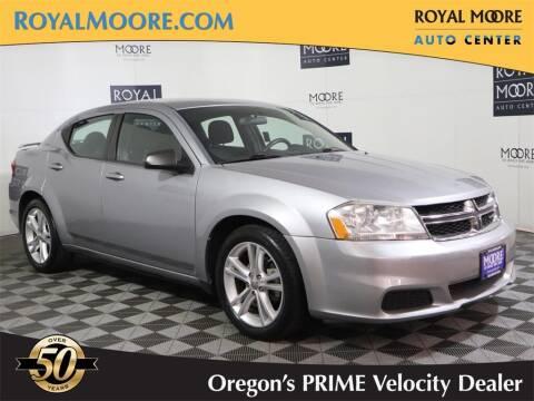 2013 Dodge Avenger for sale at Royal Moore Custom Finance in Hillsboro OR