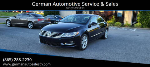 2013 Volkswagen CC for sale at German Automotive Service & Sales in Knoxville TN