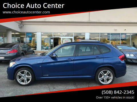 2014 BMW X1 for sale at Choice Auto Center in Shrewsbury MA
