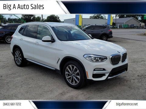 2019 BMW X3 for sale at Big A Auto Sales Lot 2 in Florence SC