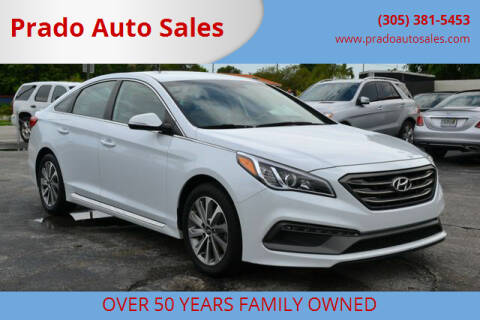 2016 Hyundai Sonata for sale at Prado Auto Sales in Miami FL