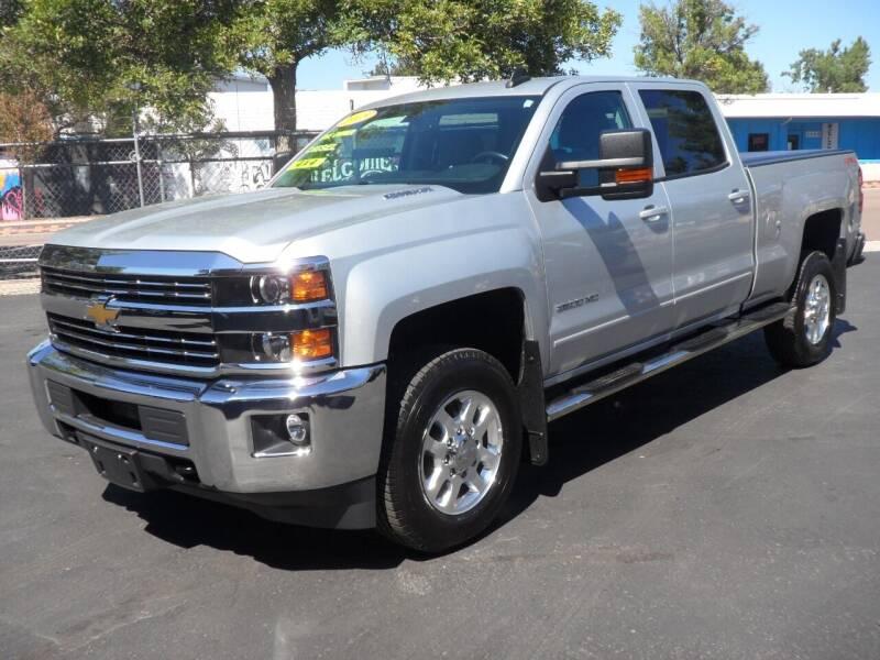 2015 Chevrolet Silverado 2500HD for sale at T & S Auto Brokers in Colorado Springs CO