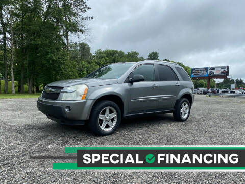 2005 Chevrolet Equinox for sale at QUALITY AUTOS in Newfoundland NJ