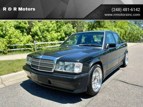 1986 Mercedes-Benz 190-Class for sale at R & R Motors in Waterford MI