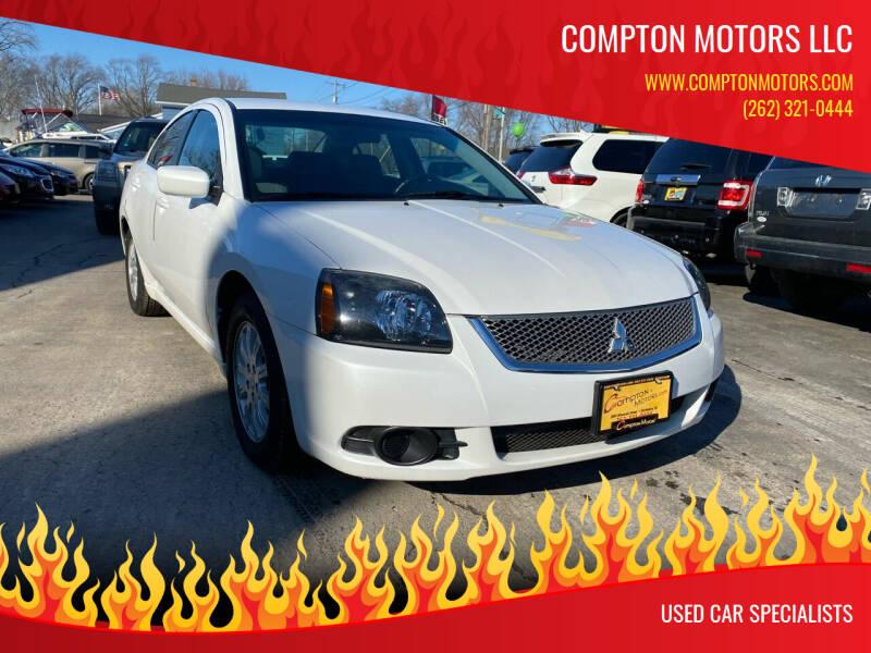 2011 Mitsubishi Galant for sale at COMPTON MOTORS LLC in Sturtevant WI