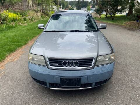 2001 Audi Allroad for sale at Road Star Auto Sales in Puyallup WA