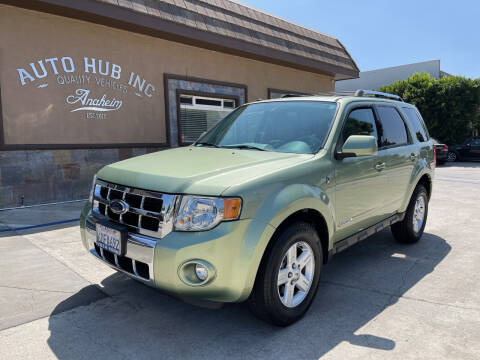 2008 Ford Escape Hybrid for sale at Auto Hub, Inc. in Anaheim CA