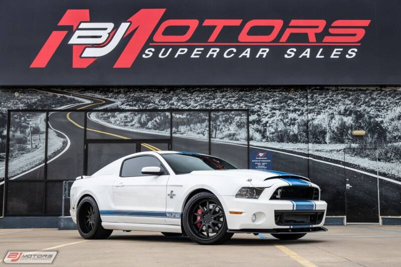 2013 Ford Shelby GT500 for sale at BJ Motors in Tomball TX