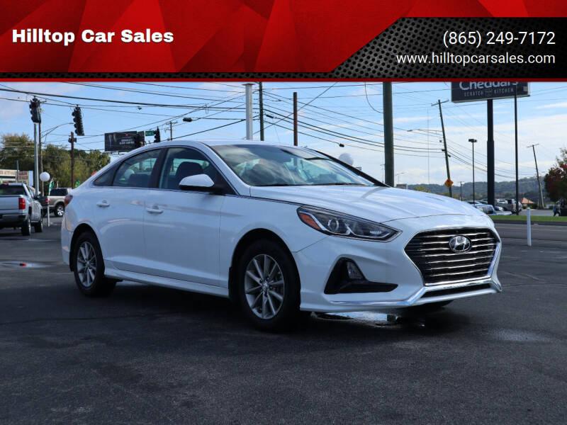 2019 Hyundai Sonata for sale at Hilltop Car Sales in Knox TN