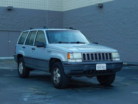 1995 Jeep Grand Cherokee for sale at Gilroy Motorsports in Gilroy CA