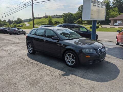2006 Audi A3 for sale at Route 22 Autos in Zanesville OH