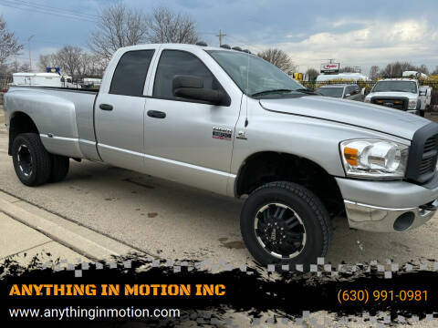 2009 Dodge Ram Pickup 3500 for sale at ANYTHING IN MOTION INC in Bolingbrook IL