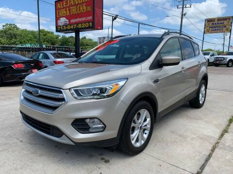 2017 Ford Escape for sale at Alejandro Cars & Trucks in Houston TX