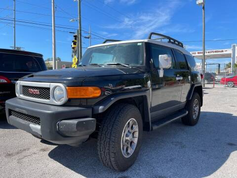 2012 Toyota FJ Cruiser for sale at Always Approved Autos in Tampa FL