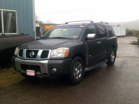 2007 Nissan Armada for sale at WEINLE MOTORSPORTS in Cleves OH