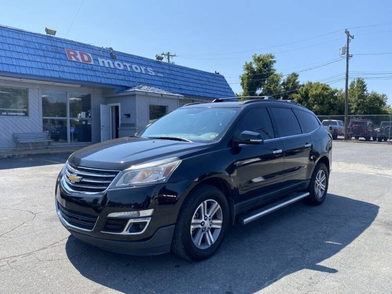 2015 Chevrolet Traverse for sale at RD Motors, Inc in Charlotte NC