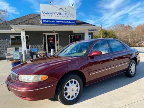 2002 Buick Century for sale at Maryville Auto Sales in Maryville TN