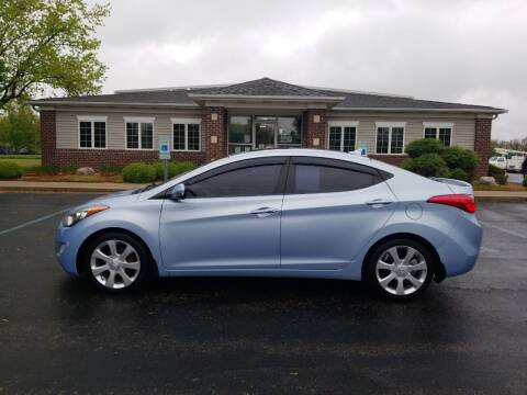 2012 Hyundai Elantra for sale at Pierce Automotive, Inc. in Antwerp OH