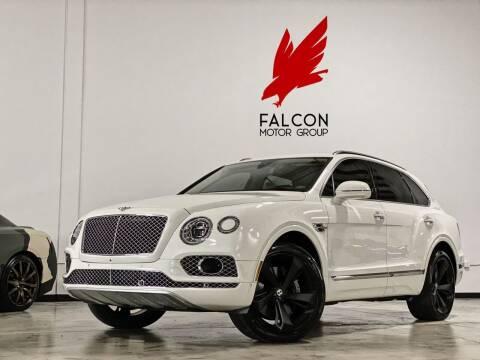 2017 Bentley Bentayga for sale at FALCON MOTOR GROUP in Orlando FL