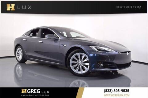 2019 Tesla Model S for sale at HGREG LUX EXCLUSIVE MOTORCARS in Pompano Beach FL