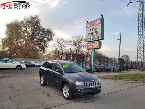 2016 Jeep Compass for sale at Five Star Auto Center in Detroit MI
