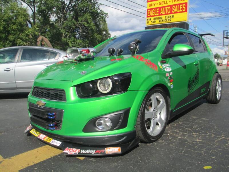 2014 Chevrolet Sonic for sale at GREG'S EAGLE AUTO SALES in Massillon OH