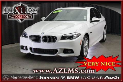 2015 BMW 5 Series for sale at Luxury Motorsports in Phoenix AZ