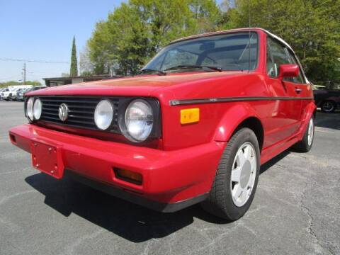 1989 Volkswagen Cabriolet for sale at Lewis Page Auto Brokers in Gainesville GA