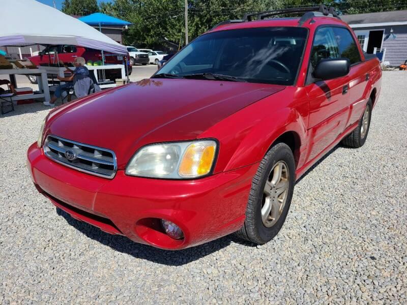 2005 Subaru Baja for sale at Davidson Auto Deals in Syracuse IN