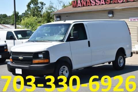 2014 Chevrolet Express Cargo for sale at MANASSAS AUTO TRUCK in Manassas VA